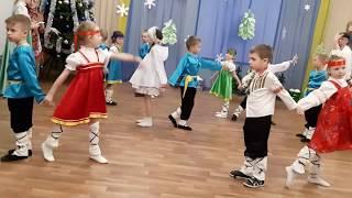 """танец """"Рождественская песнь"""".Д/с № 42 """" Пингвинчик"""", г. Верхняя Салда"""