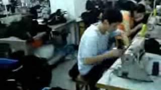 Fàbrica de pantalones en China