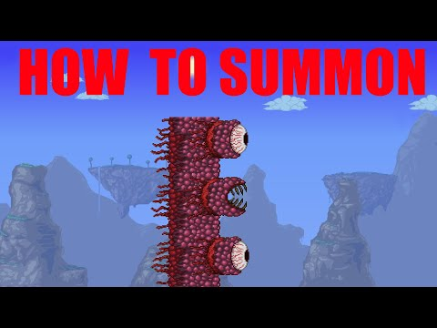 How To Summon Wall Of Flesh In Terraria