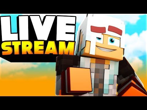 💙 LIVE ⚔️ Minecraft Hypixel BED WARS ⚔️ -  Stream Parties