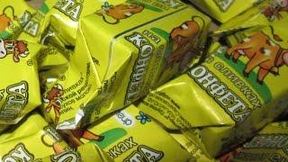 Конфеты «КОРОВКА» на сливках в домашних условиях