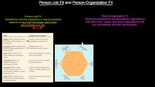 Person-Job Fit and Person-Organization Fit | Organisational Behavior | MeanThat