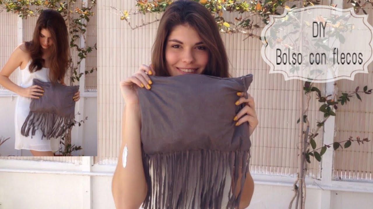 37e8797e0a DIY  Haz tu propio bolso con flecos! - YouTube