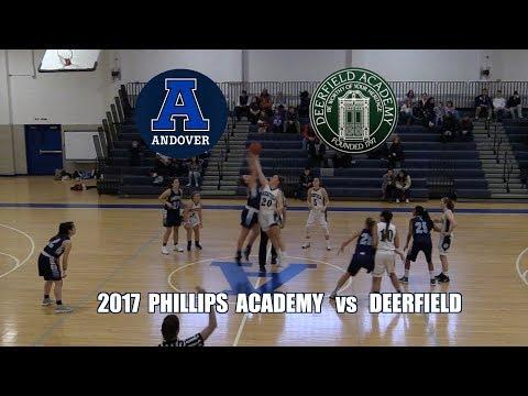 2018 Phillips Academy Andover GV Basketball vs Deerfield