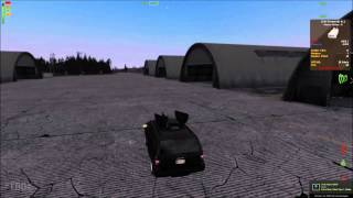 Dayz Epoch Suv Amored vs  BTR 90 EPIC