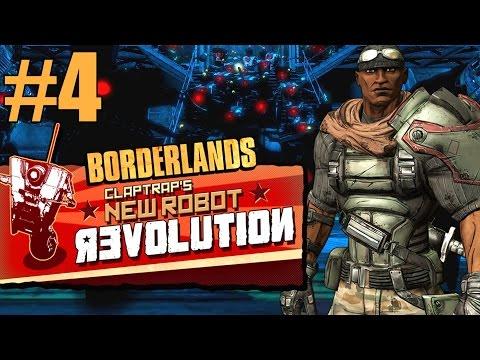 Borderlands: Claptrap's New Robot Revolution! - Part 4 - Sander's Gorge Power Plant!