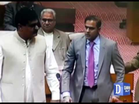 Fight In National Assembly Session