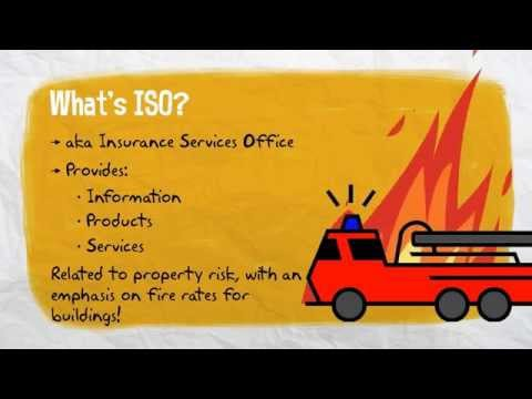 Insurance 101 - What's an ISO Visit?