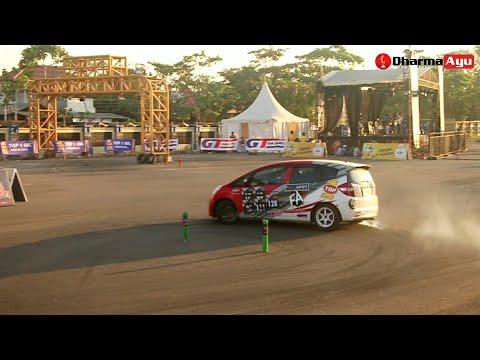 Slalom Competition Kejurda Auto GYMKHANA Indramayu Jawa Barat 2018