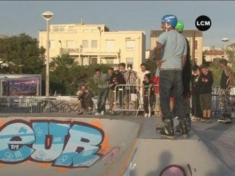 Roller : Marseille Pro Bowl Contest 2011