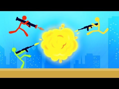 INTENSE EXPLOSIVE STICKMAN BATTLES! (Stick Fight)