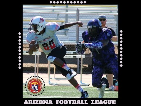 w9 2016 Tucson Demons Arizona Football League AzFL Club