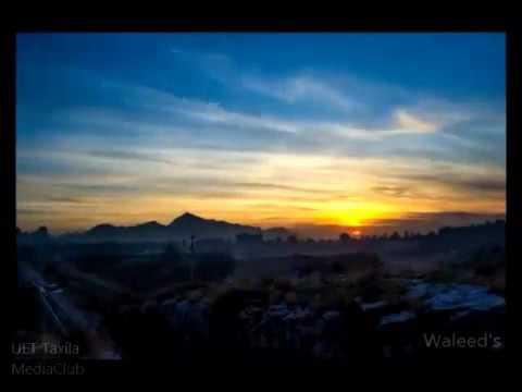 UET Taxila Sunrise And Sunset Timelapse | Humans Of Pakistan