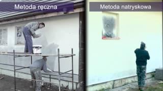 Tynkowanie metodą natryskową - instrukcja oraz porównanie wobec metody tradycyjnej