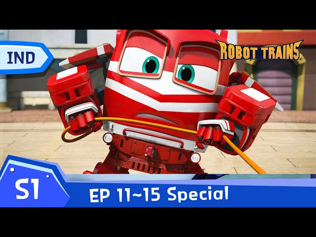 Robot Trains   EP11~EP15 (60min)   SPECIAL FULL EDISODE COMPLIATION   Bahasa Indonesia
