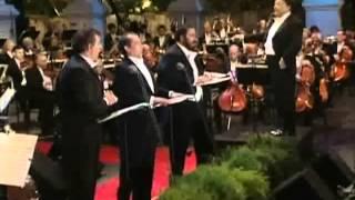 Luciano Pavarotti -La Donna E Mobile - Concierto de Los Tres Tenores