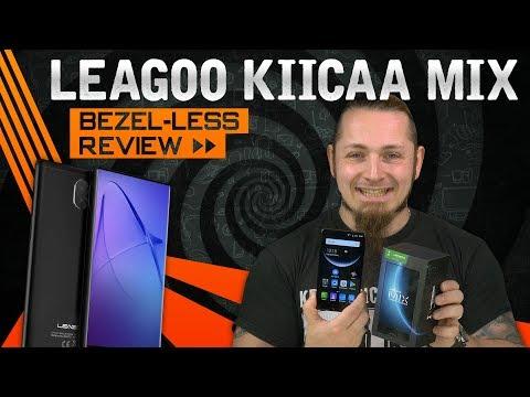 LEAGOO KIICAA MIX 📱 Günstiger Bezel-Less Einstieg? [Review, Technik, German, Deutsch]