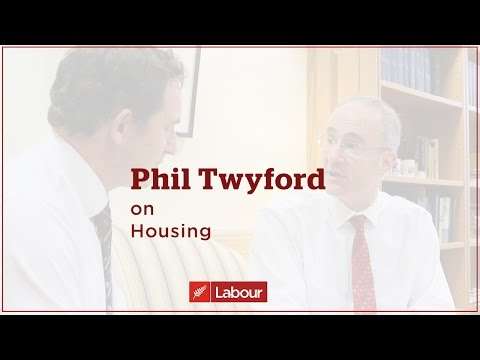 Phil Twyford on Housing