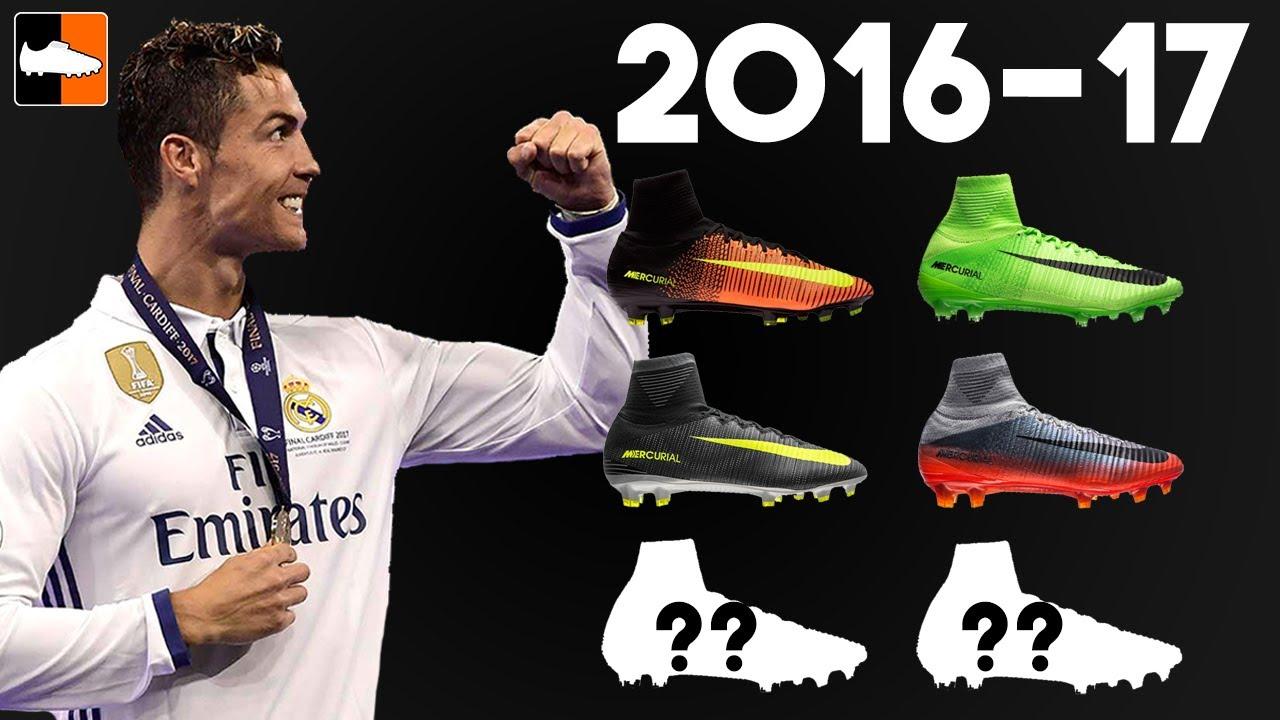 4e6ba8d6f84 Cristiano Ronaldo s Amazing Year - Every CR7 Boot Worn. Football Boots