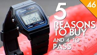 Casio F-91W Digital Watch Review - back light test, shower test, Alarm test.