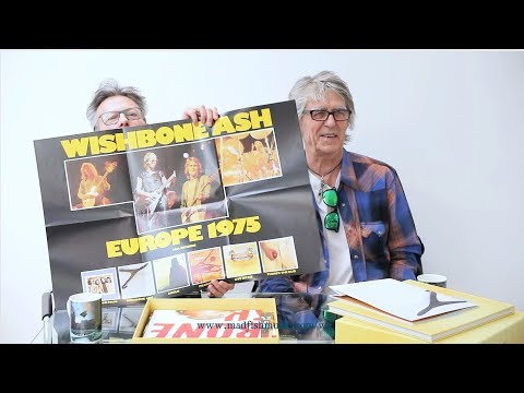 Wishbone Ash - The Vintage Years FULL UNBOXING with Martin & Laurie