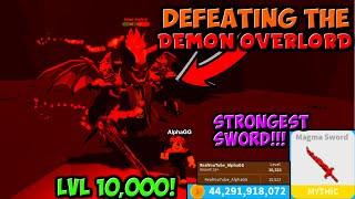 SCONFITTE IL BOSS HARDEST CON L'LVL 10.000 SWORD IN LIMITLESS RPG!! (Roblox)