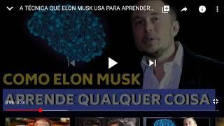 Elon musk técnica de aprendizado #elonmusktopico1