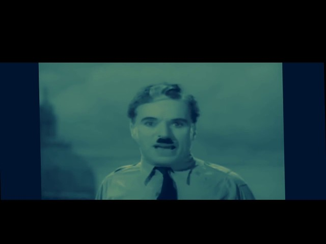 Spage - good earth is rich (charlie chaplin great dictator speech)