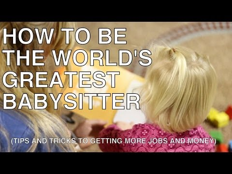 How to become a Teenage Babysitter