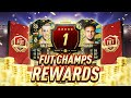 WOW!! 1ST IN THE WORLD FUT CHAMPIONS REWARDS!!! TOP 100 FIFA 20 WEEKLY ULTIMATE TEAM PACK OPENING!!