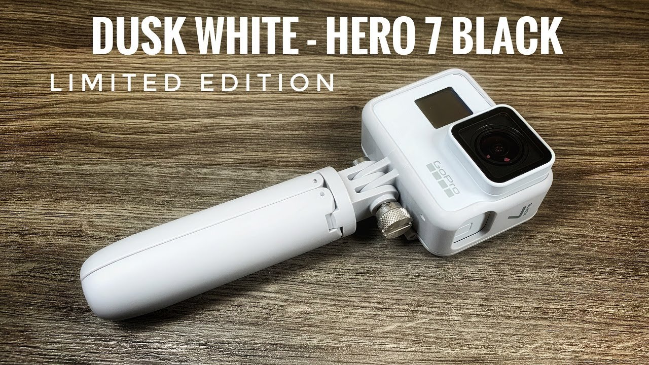 e42a3d404f GoPro Hero 7 Black Dusk White Limited Edition - Unboxing