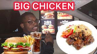 ORDERING JAMAICAN FOOD AT FAST FOOD RESTAURANTS!!