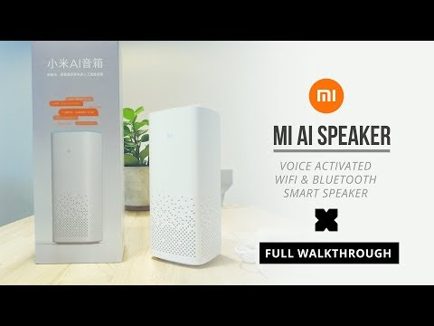 Xiaomi Mi Ai Speaker - WiFi Bluetooth Smart Speaker - Full Walkthrough