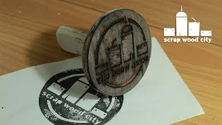 Diy Experimental Wooden Stamp Of My Logo