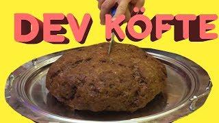 Dev Köfte Yaptık (3 Kilo Kıyma ile 1 Köfte)
