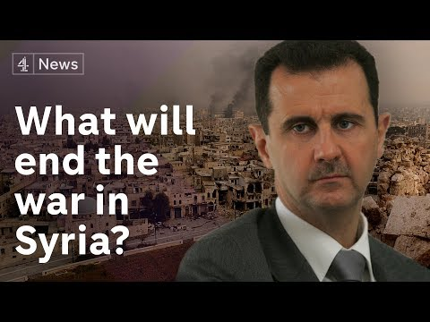 Is there any end in sight to the war in Syria?
