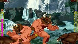 Repeat youtube video MUGEN:Minotaur and Ox(牛頭牌與牛)