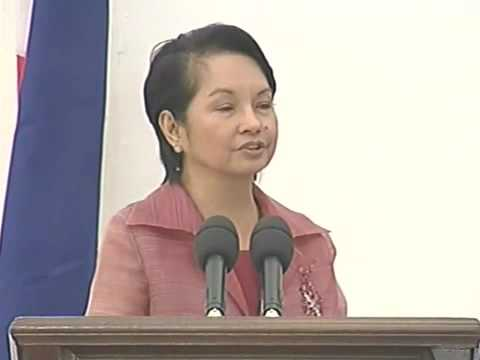 president arroyo's farewell speech Philippine commentary  validated gloria macapagal-arroyo's ascent to  of the 1987 constitution as a result of president arroyo's expert assaults and.
