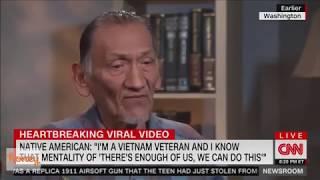 Ben Shapiro PROVES that Lincoln Memorial native American is a LIAR