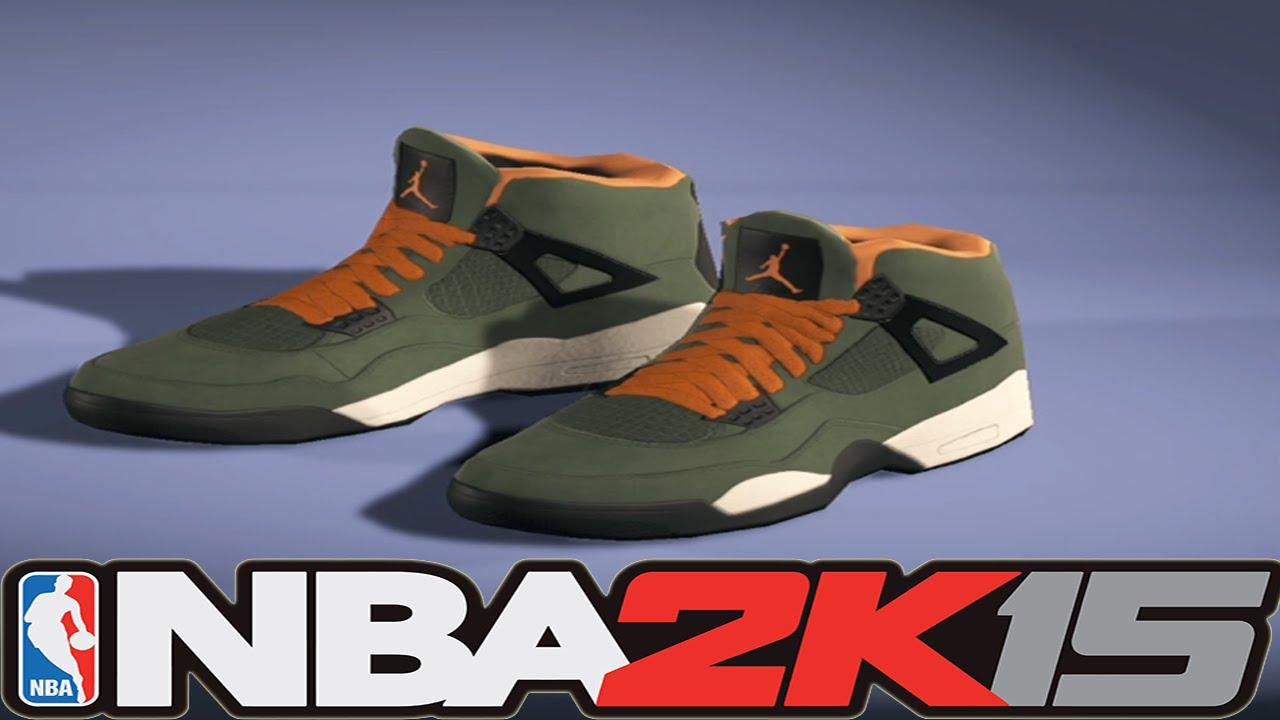 5212760b05e3 NBA 2K15 Shoe Creator - Air Jordan 4 Undefeated   NBA2K15  - YouTube