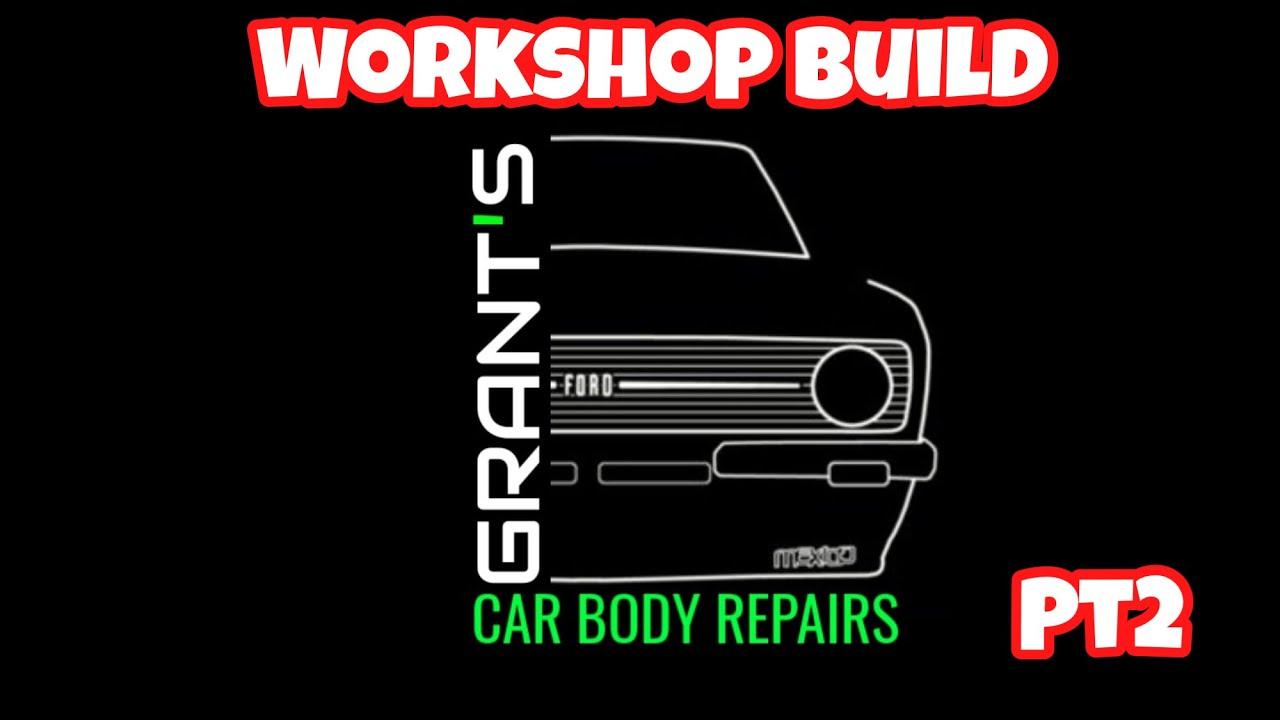 Workshop build pt2 💪💪💪💪
