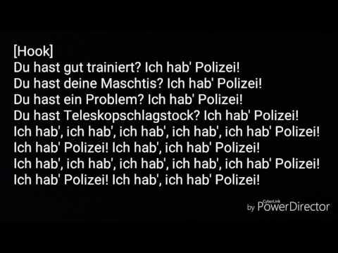 Ich hab Polizei Songtext - Jan Böhmermann