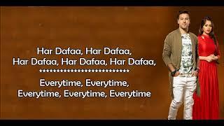 Har Dafa   Rahul Jain   Tu Aashiqui Colors   Lyrical Video With Translation