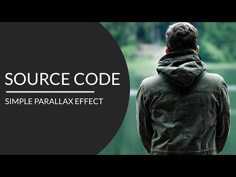 Simple parallax scrolling effect ( Source Code )