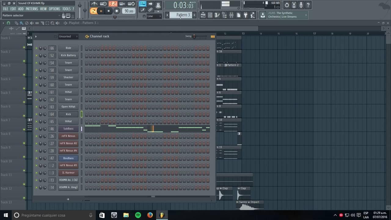 Sound Of KSHMR Vol  2 Song (Remake FL 12 By Patrick Reed) + FLP