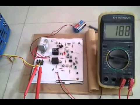 High and Low Voltage Cut Off project circuit+working video