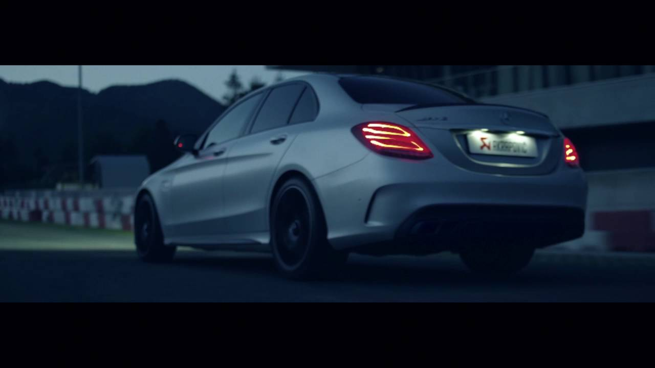 Mercedes AMG C 63 with an Akrapovič Exhaust System