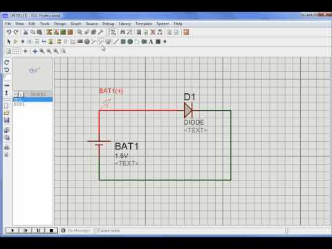 Simulation of diode with Proteus from YouTube · Duration:  1 minutes 27 seconds