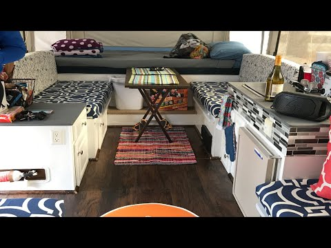 Renovating our JAYCO 1007 POP UP CAMPER Trailer !