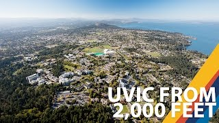 University of Victoria aerial highlights